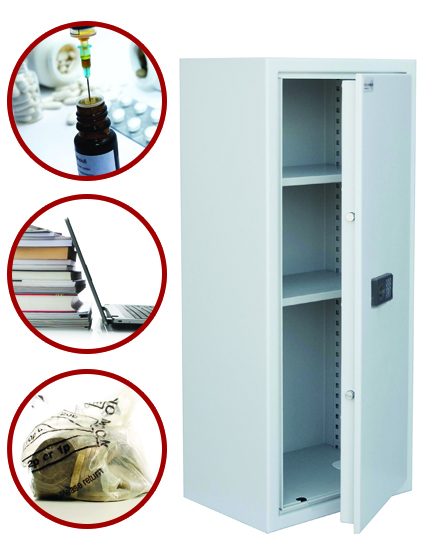 Safe Storage Assured with the Secure Stor from Securikey