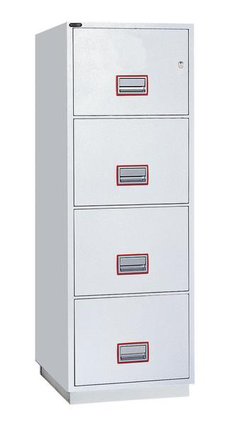 4 Drawer Fire File Key Lock