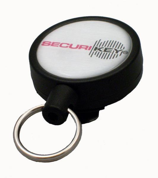 Securikey Heavy Duty Key Reel 1200mm Black RSCHDK